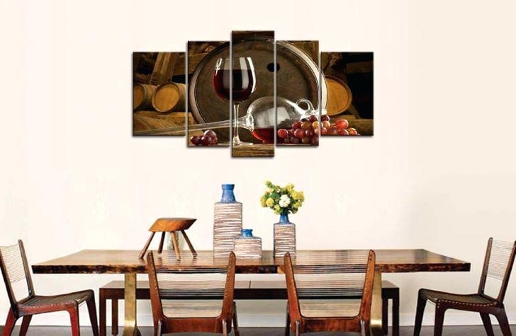 Well Liked Wine Theme Wall Art For Wine Decorating Ideas For Kitchen Wine Decor Wall Art Com Throughout (View 5 of 15)