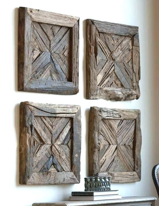 Well Liked Wooden Wall Art Panels Best Wood Ideas On Reclaimed Carved Uk Regarding Wood Wall Art Panels (View 7 of 15)