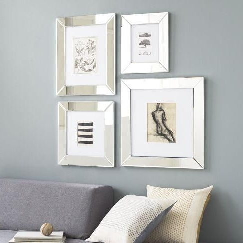West Elm – Mirrored Intended For Famous Mirrored Frame Wall Art (View 14 of 15)