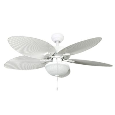 White Outdoor Ceiling Fans Intended For Most Current White Outdoor Ceiling Fan With Light 2018 Home Depot Ceiling Fans (View 6 of 15)