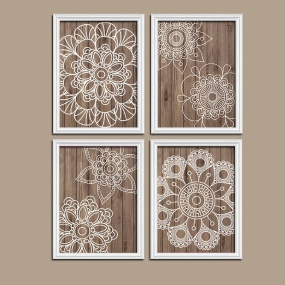 White Wooden Wall Art Inside Most Popular Wood Wall Art Bedroom Pictures Canvas Or Prints Bathroom (View 9 of 15)
