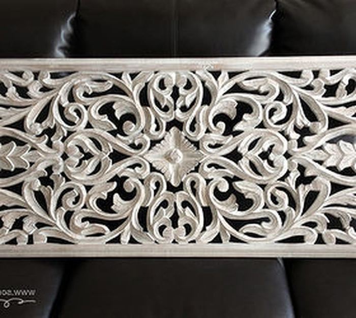 White Wooden Wall Art Pertaining To Most Popular  (View 12 of 15)