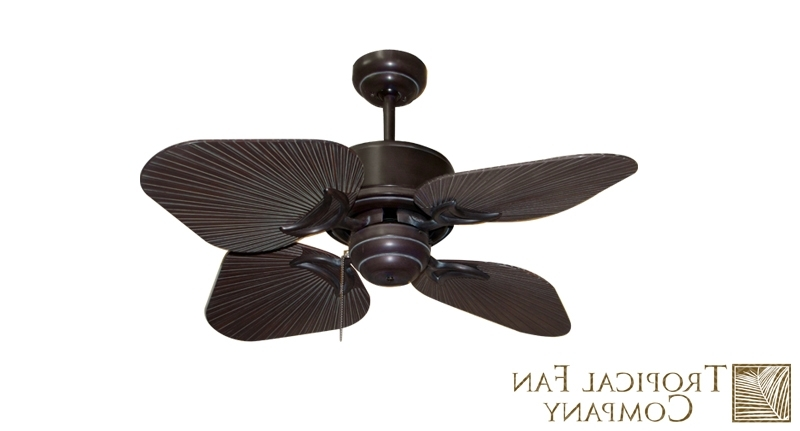 Wicker Outdoor Ceiling Fans With Lights Within Famous Interior (View 8 of 15)
