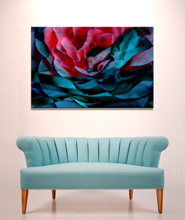 Widely Used Abstract Flower Art Archives – Cianelli Studios Art Blog Pertaining To Abstract Flower Wall Art (View 3 of 15)