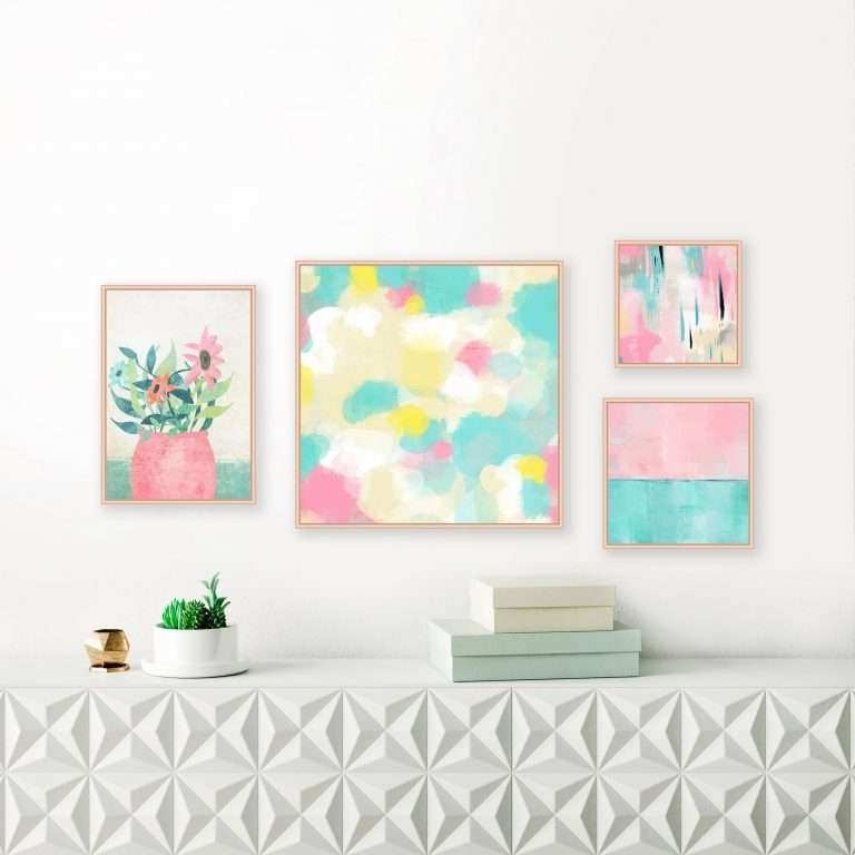 Widely Used Abstract Wall Art Prints Unique 15 Best Collection Of Pastel In Pastel Abstract Wall Art (View 15 of 15)