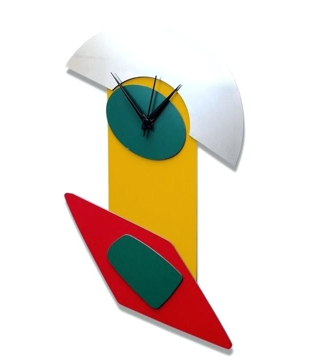 Widely Used Abstract Wall Art With Clock Inside Abstract Wall Clock Abstract Wall Clock Abstract Wooden Wall Clocks (View 8 of 15)