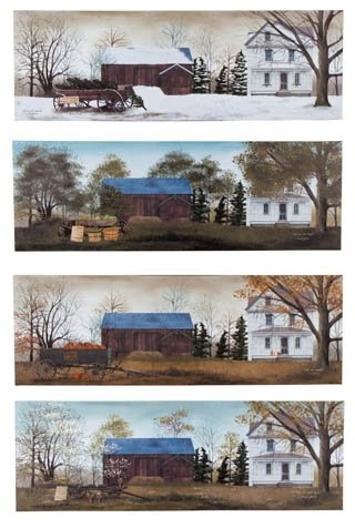 Widely used Amazon: Canvas Prints, Modern Wall Art Set Of 4 Billy Jacobs The within Billy Jacobs Framed Wall Art Prints