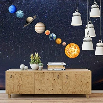 Featured Photo of Solar System Wall Art