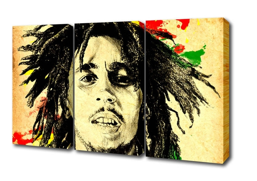 Widely used Bob Marley Canvas Wall Art - Elitflat intended for Bob Marley Canvas Wall Art