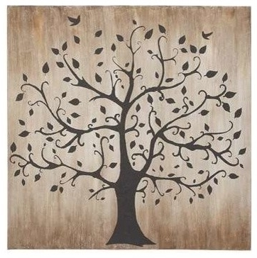 Widely Used Classy Wall Art Inside Tree Themed Classy Canvas Wall Art – Contemporary – Prints And (View 15 of 15)