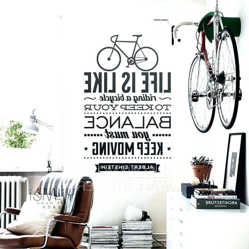 Widely Used Cycling Wall Art Bicycle Wall Art Cycling Wall Art La Vie Est Sport For Cycling Wall Art (View 15 of 15)