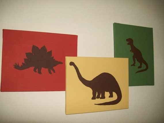 Widely Used Design Dinosaur Canvas Wall Art 33130 – View All Famous Paintings Of Inside Dinosaur Canvas Wall Art (View 10 of 15)