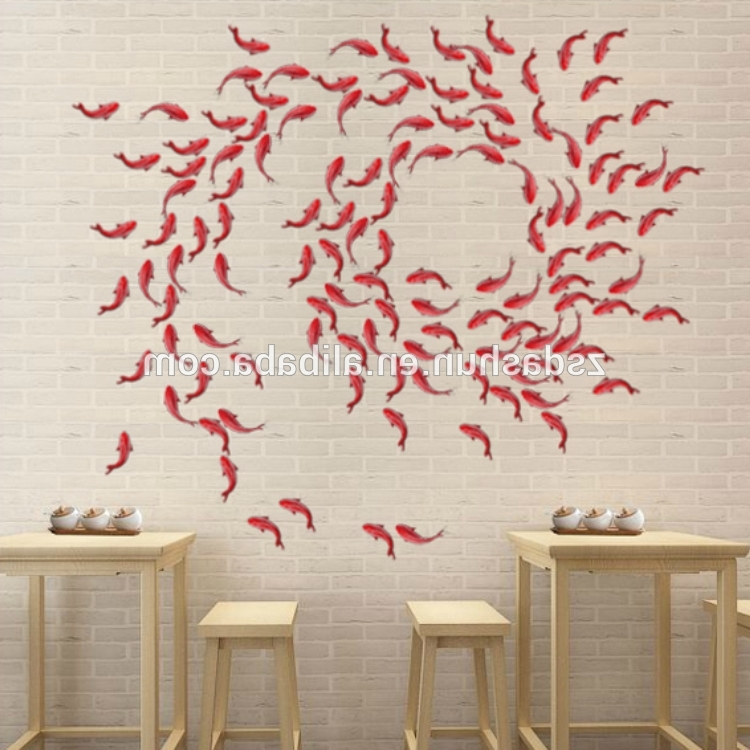 Widely Used Fish 3D Wall Art Regarding China Fish Decor Wholesale ?? – Alibaba (View 7 of 15)
