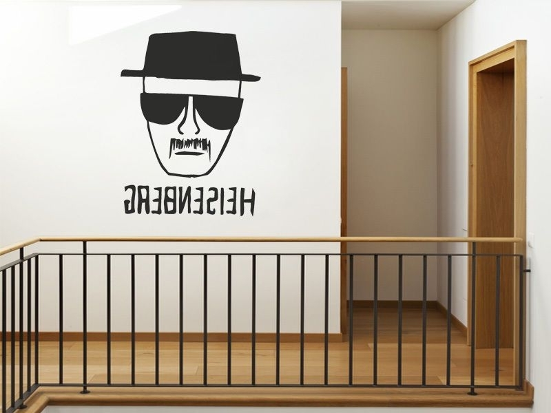 Widely Used Heisenberg – Breaking Bad Wall Art Sticker Wall Decal Modern Vinyl Throughout Modern Vinyl Wall Art (View 15 of 15)