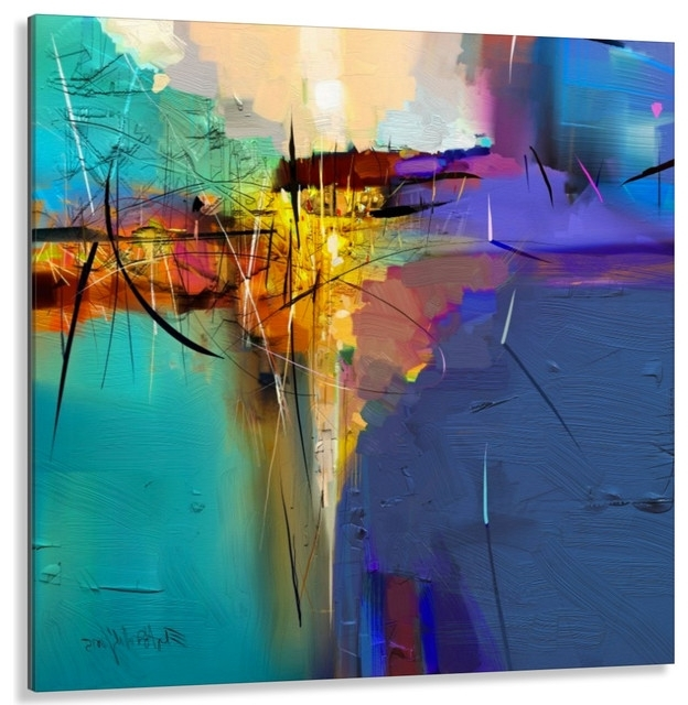 Widely Used High End Facemount Acrylic Abstract Wall Art, Made In Canada And Usa With Abstract Wall Art Canada (View 5 of 15)