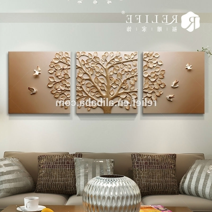 Featured Photo of India Abstract Metal Wall Art