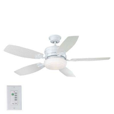 Widely Used Indoor/outdoor – Coastal – Ceiling Fans – Lighting – The Home Depot With Outdoor Ceiling Fans For Coastal Areas (View 13 of 15)