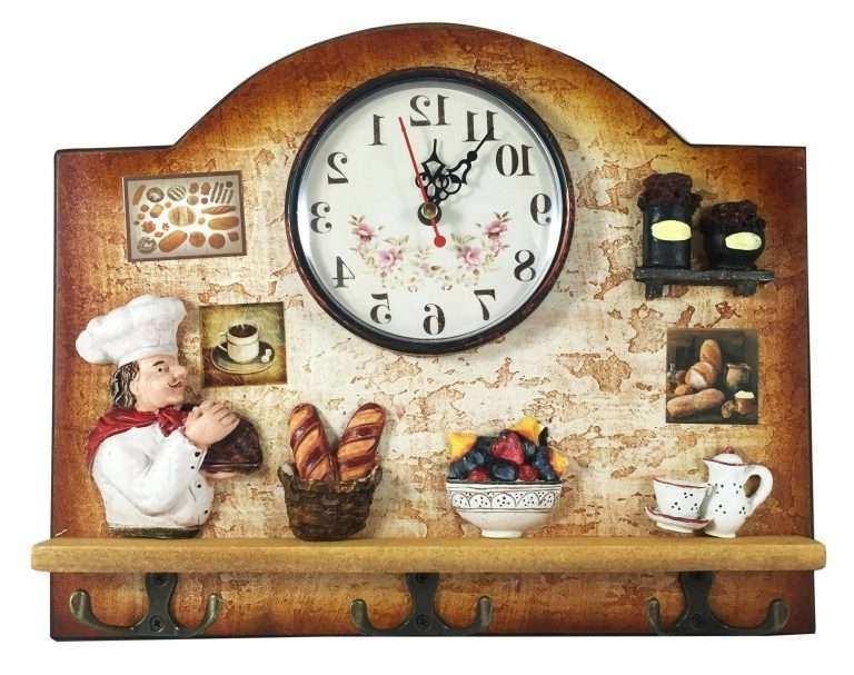 Featured Photo of Italian Ceramic Wall Clock Decors