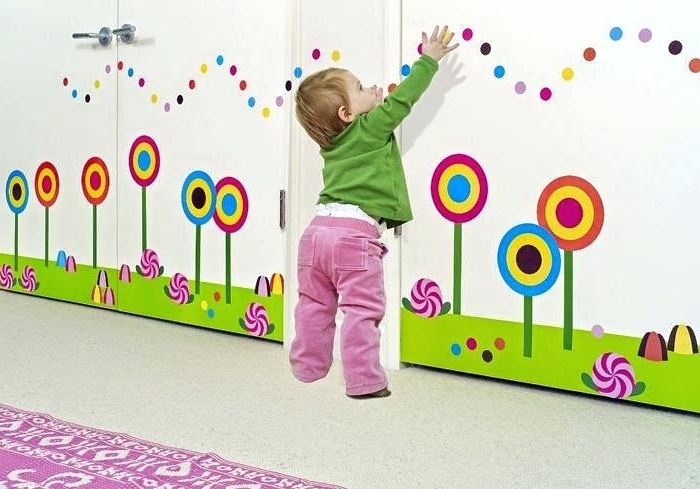 Widely Used Kindergarten Wall Decoration Carton Sun Flower Dragonfly Wall Intended For Preschool Wall Decoration (View 15 of 15)