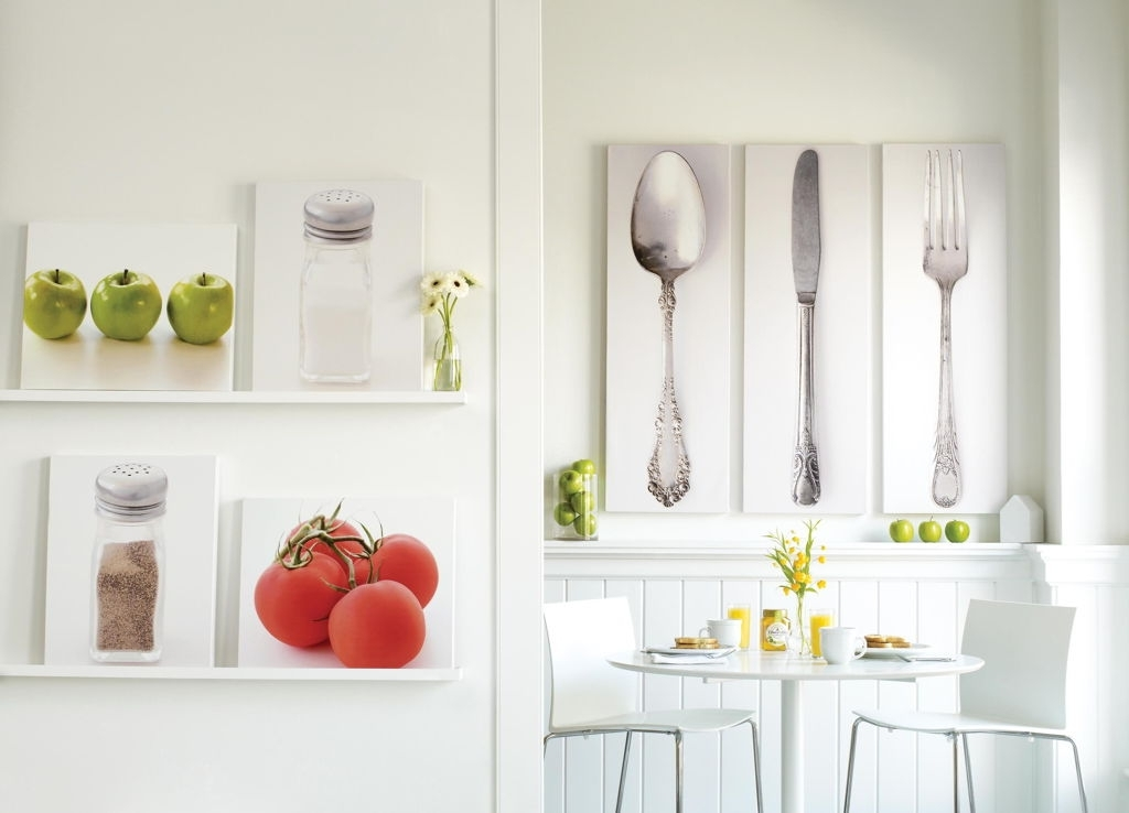 Widely Used Kitchen And Dining Wall Art With Regard To Surprising Kitchen Dining Room Wall Art Decor Showing Cutlery Sets (View 12 of 15)