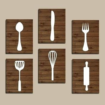 Widely Used Kitchen Utensil Wall Decor Kitchen Utensil Wall Decor Metal Fork And With Large Utensil Wall Art (View 15 of 15)