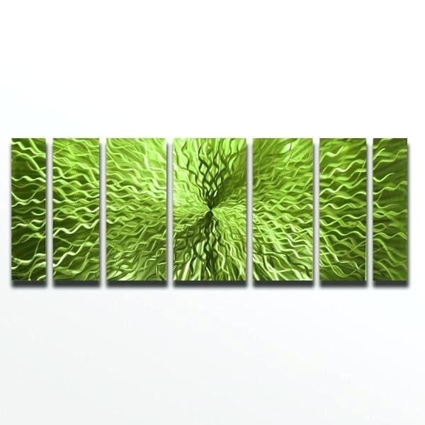 Widely Used Lime Green Metal Wall Art Within Green Metal Wall Art Green Metal Wall Art Mesmerizing Metal Lily Pad (View 15 of 15)