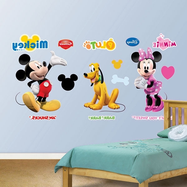 Widely Used Mickey Mouse Clubhouse Wall Art Inside Mickey Mous Stunning Mickey Mouse Clubhouse Wall Decals – Wall (View 15 of 15)