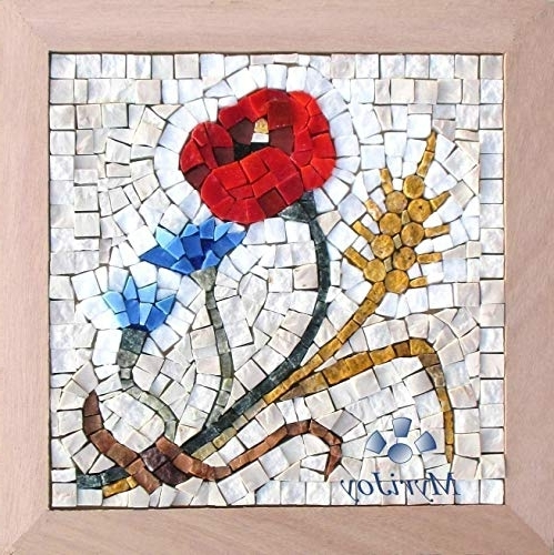 Widely Used Mosaic Wall Art Kits With Regard To Amazon: Diy Mosaic Craft Kit For Adults: Four Seasons Summer  (View 15 of 15)