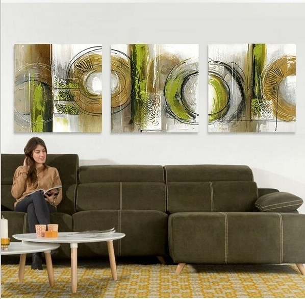 Widely Used Olive Green Abstract Wall Art (View 15 of 15)