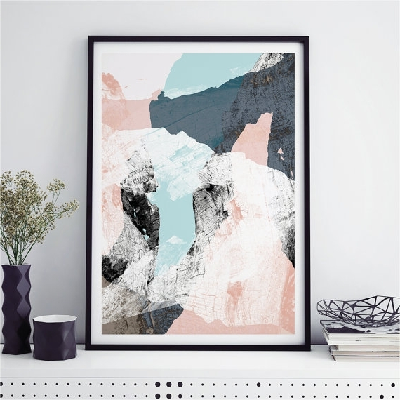 Widely Used Original Abstract Art Print Wood Valley No Perfect Wall Art Prints Inside Abstract Wall Art Prints (View 10 of 15)