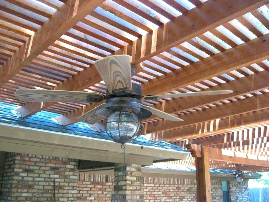 Widely Used Outdoor Ceiling Fans Under Pergola With Pergola Ceiling Fan Pergola Ceiling Fans Ceiling Fan Outdoor Pergola (View 15 of 15)