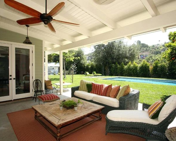 Widely Used Outside Ceiling Fans Breeze Outdoor Porch Fan On Front Porch Ceiling With Harvey Norman Outdoor Ceiling Fans (View 6 of 15)