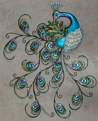 Widely Used Peacock Metal Wall Art For Wall Art Designs Peacock Wall Art Home Decor Wall Decor Metal Wall (View 15 of 15)