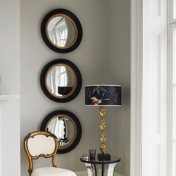 Widely Used Round Mirror Wall Art (View 10 of 15)