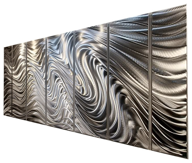 Widely Used Silver Abstract Metal Wall Art Sculpturejon Allen, Hypnotic Intended For Contemporary Metal Wall Art Sculpture (View 13 of 15)
