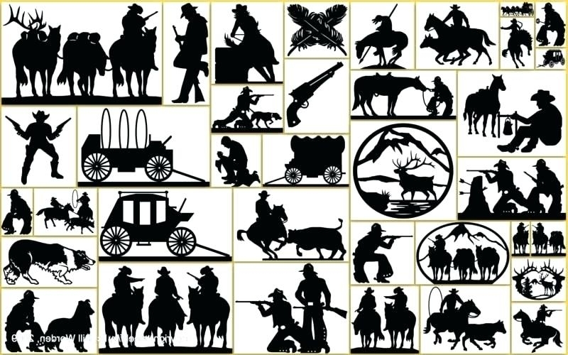 Widely Used Western Metal Wall Art Silhouettes – Dannyjbixby In Western Metal Wall Art Silhouettes (View 15 of 15)