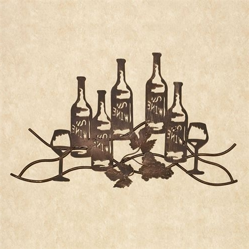 Wine Metal Wall Art In Well Known Wine And Grapes Metal Wall Art (View 3 of 15)