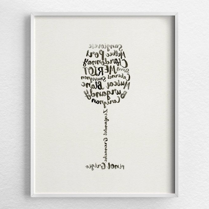 Wine Theme Wall Art Intended For 2018 2018 Popular Wine Theme Wall Art, Wine Wall Art – The Beyer Foundation (View 10 of 15)