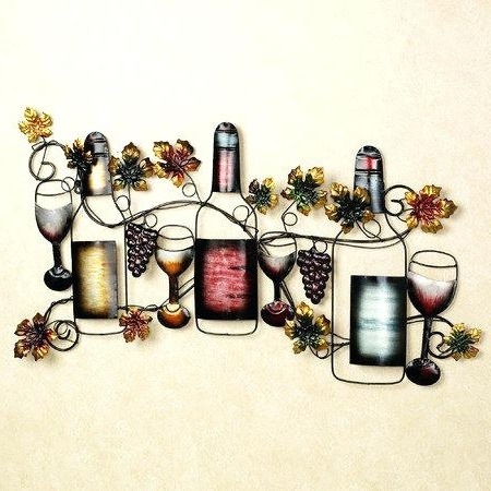 Wine Wall Art Metal – Vaughanbrosart With Regard To Famous Wine Metal Wall Art (View 15 of 15)