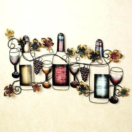 Wine Wall Art Metal – Vaughanbrosart With Regard To Famous Wine Metal Wall Art (View 15 of 15)