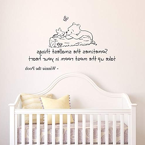 Winnie The Pooh Wall Art For Nursery With Well Known Winnie The Pooh Wall Art: Amazon.co (View 9 of 15)