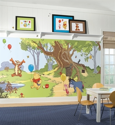 Winnie The Pooh Wall Decor Intended For Preferred Winnie The Pooh Wall Murals – Huge Realistic Wall Decor – Extra (View 13 of 15)