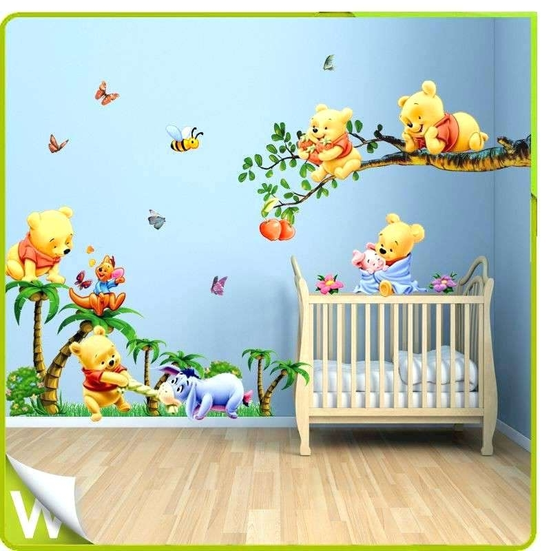Winnie The Pooh Wall Decor The Pooh Wall Art Best Of The Pooh Full Pertaining To 2017 Winnie The Pooh Wall Decor (View 11 of 15)