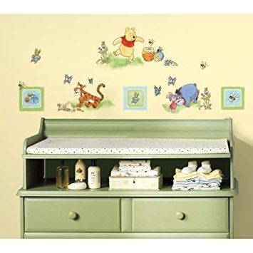 Winnie The Pooh Wall Decor with Most Recent Amazon: New Winnie The Pooh Wall Decals Baby Nursery Or Kids