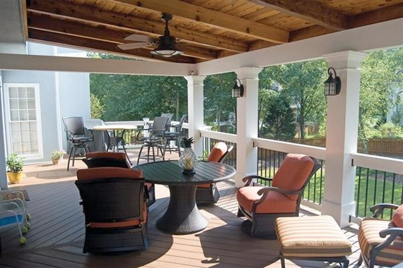 Wonderful Outdoor Patio Ceiling Ideas Outdoor Porch Ceiling Fans With Regard To Well Known Outdoor Patio Ceiling Fans With Lights (View 15 of 15)