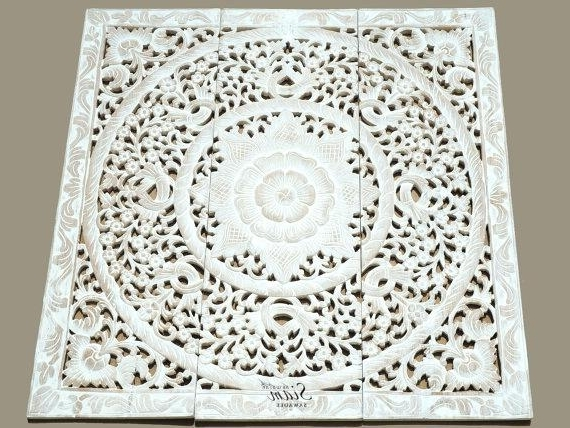 Wood Carved Wall Art Carved Wood Wall Art Regarding Found House Wood Intended For 2017 White Wooden Wall Art (View 10 of 15)