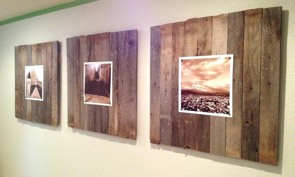 Wood Panel Wall Art Regarding Well Liked Decoration: Simple Wood Panel Wall Art Diy (View 11 of 15)