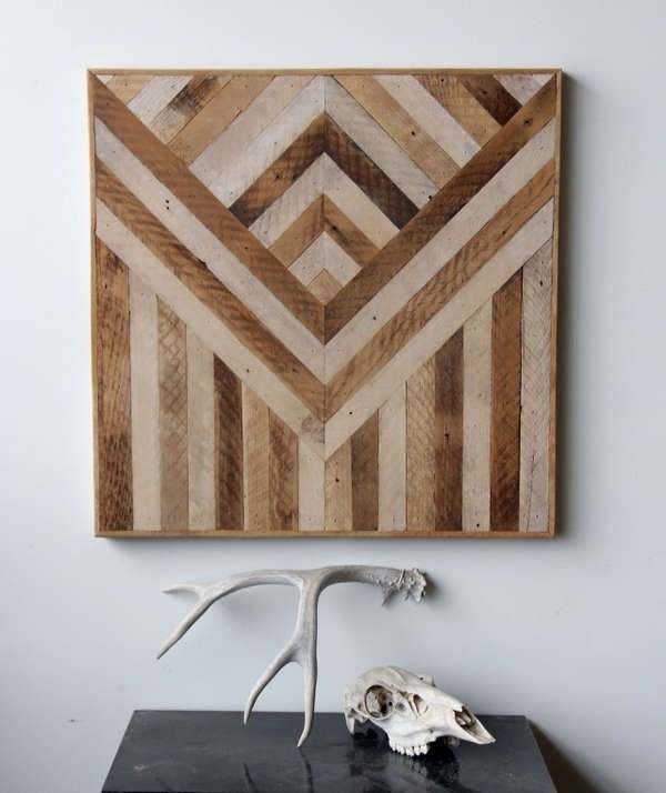 Wood Panel Wall Decor 124 Best Wood Walls Images On Pinterest Throughout Latest Wood Panel Wall Art (View 13 of 15)