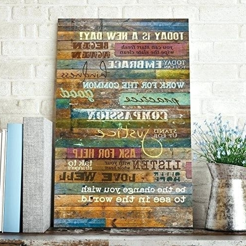Wood Word Wall Art Home Shop Home Decor Wall Art Black Wood Word Within Most Recently Released Wooden Word Wall Art (View 12 of 15)