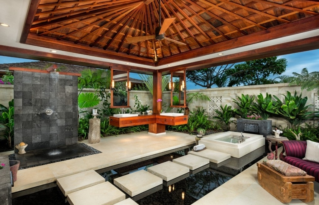 Wooden Outdoor Ceiling Fans For Beautiful Patio (View 11 of 15)